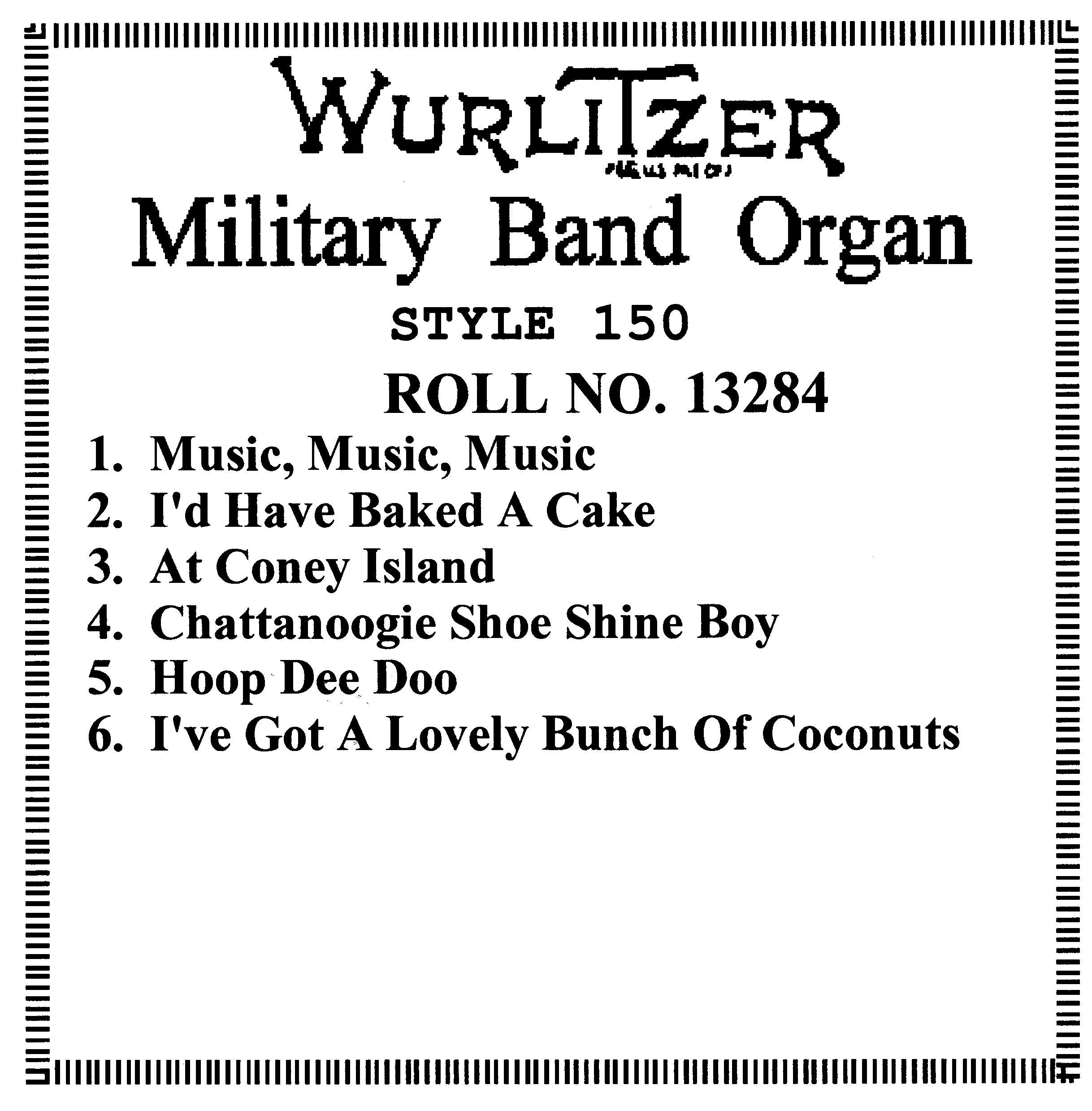 Organ Rolls